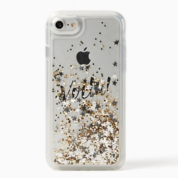 competitive price a5ccb f1212 kate spade Accessories | Glitter Waterfall Phone Case | Poshmark